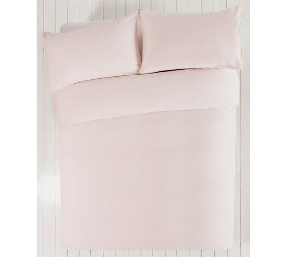 Collection Pink Brushed Cotton Bedding Set Argos 13 99
