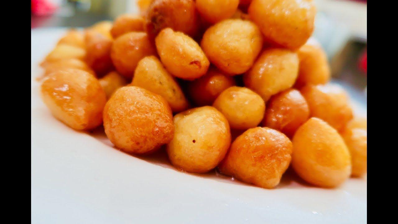 أسهل طريقة لعمل الزلابية المقرمشة بالمنزل بدون نشا بدون ماء Fried Sweet Food Yummy Food Recipes