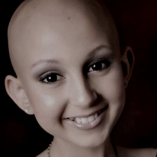talia <3 12 year old cancer ass kicker! please pray for this sweet