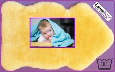 Baby-Lammfell, Babyfell, medizinisch, waschbar