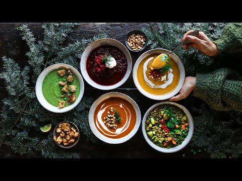 Cozy Vegan Soups A Hug In A Bowl Pick Up Limes Youtube Vegan Recipes Vegan Soups Veggie Lentil Soup Healthy Foodie