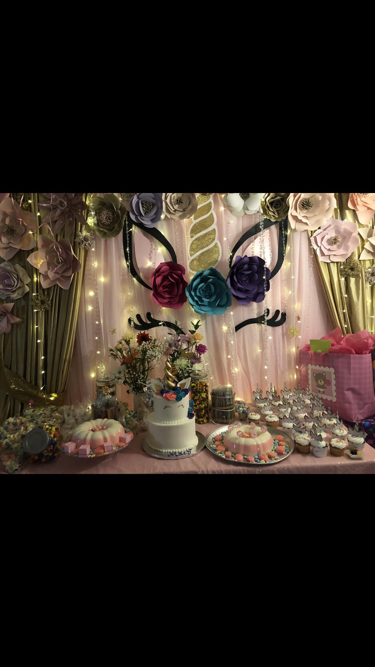 Unicorn baby shower | Unicorn baby shower, Baby shower ...