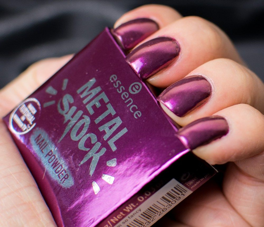 "Essence – Metal Shock Nail Powder ""I\'m so fancy"" 