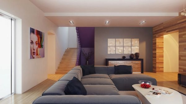 Uberlegen Auffällige Wohnzimmer Einrichtung   Frischekick Für Die Wohnung