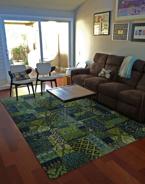 Buy Chakra Indigo Carpet Tile By Flor How To Make A Rug Diy