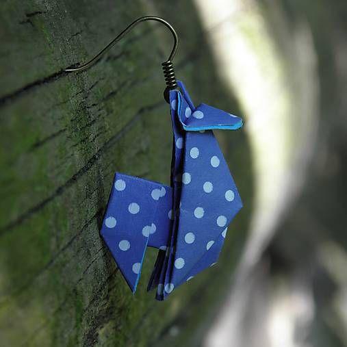 OrigamiJewel / Letní dovolenka - origami náušnice
