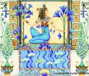 The Blue Egyptian Lotus Flower History That I Love Antico Egitto