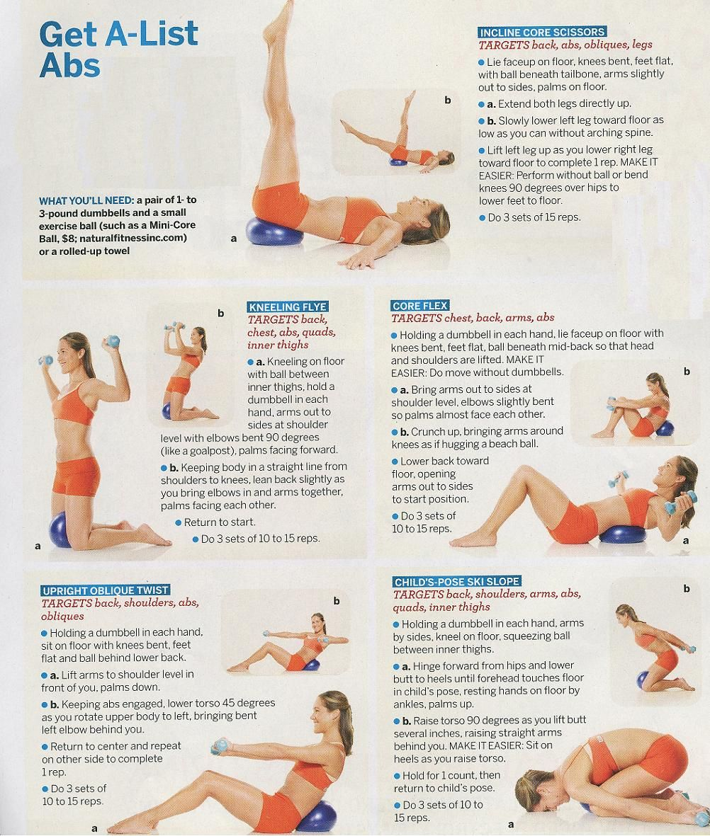 A Fit Nurse Workout Programs Abs Workout Excersise