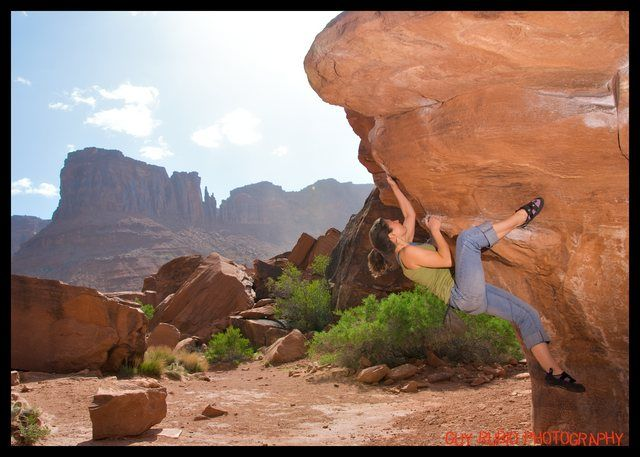 Another Moab boulder problem