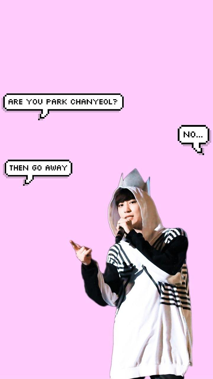 Semi Hiatus Chanyeol Don T Touch My Phone Requested All Dont Touch My Phone Wallpapers Chanyeol Exo Stickers