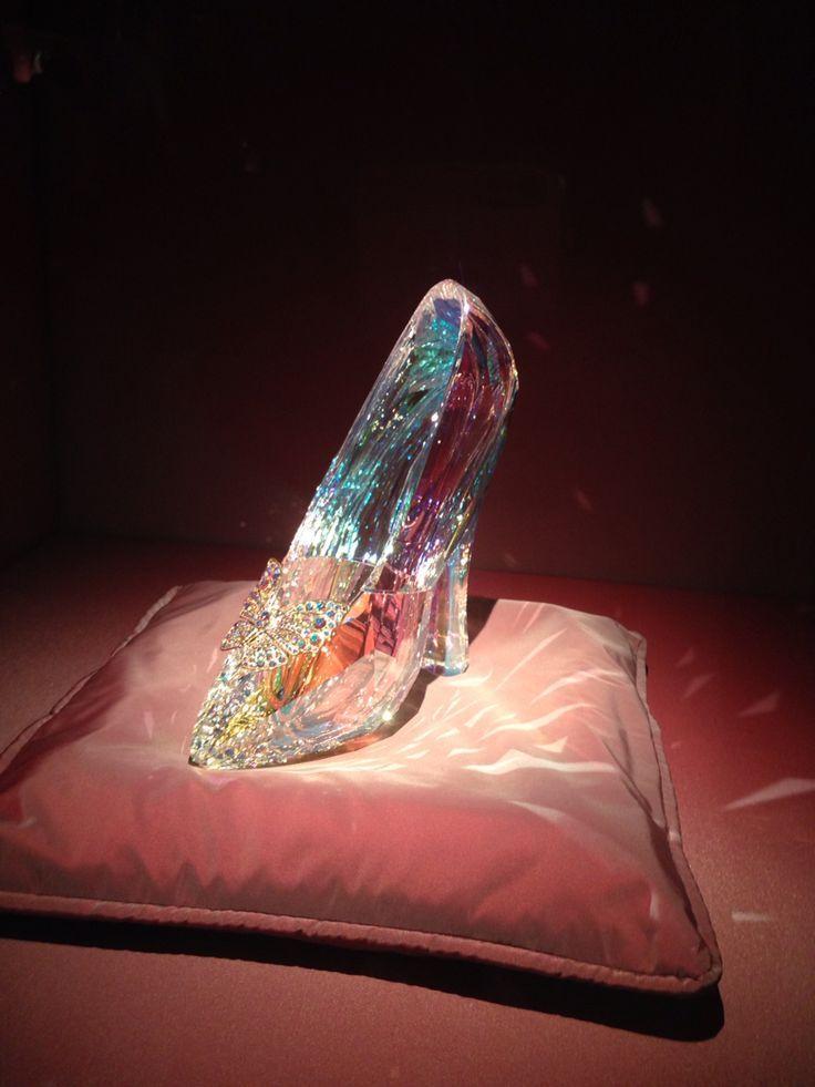 Cinderella shoe Swarovski kristallwelten