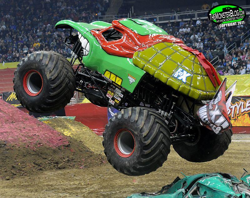 Ninja Turtle Monster Truck Teenage Mutant Ninja Turtle