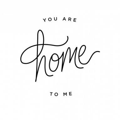 You Are Home To Me. $5. (100% of proceeds go to a childhood cancer patient in need)