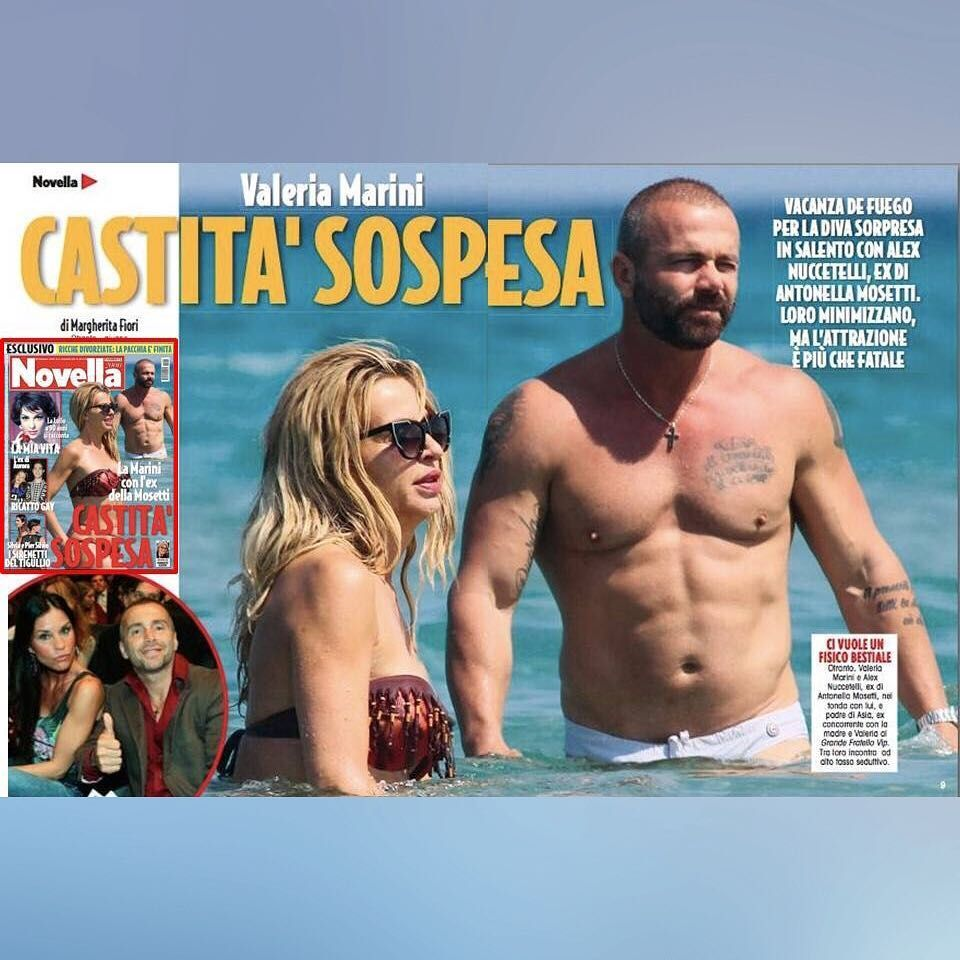 Valeria Marini e Alex Nuccetelli: stanno insieme o solo amicizia?