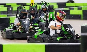 Go Kart Racing Pa >> Groupon 14 Lap Indoor Go Kart Race For Two Four Or Six At Speed