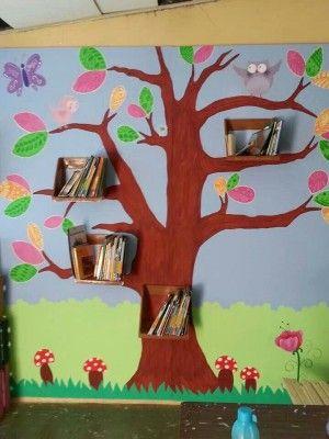 Arboles Para Decorar Aulas.20 Ideas Para Decorar Montar Y Preparar Tu Biblioteca De