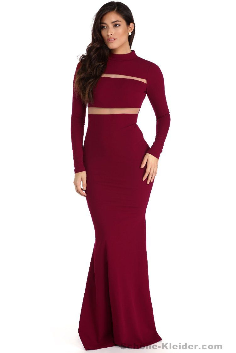 27 Heiße Rotes Abendkleider Lang Schöne Stile | Elegante ...