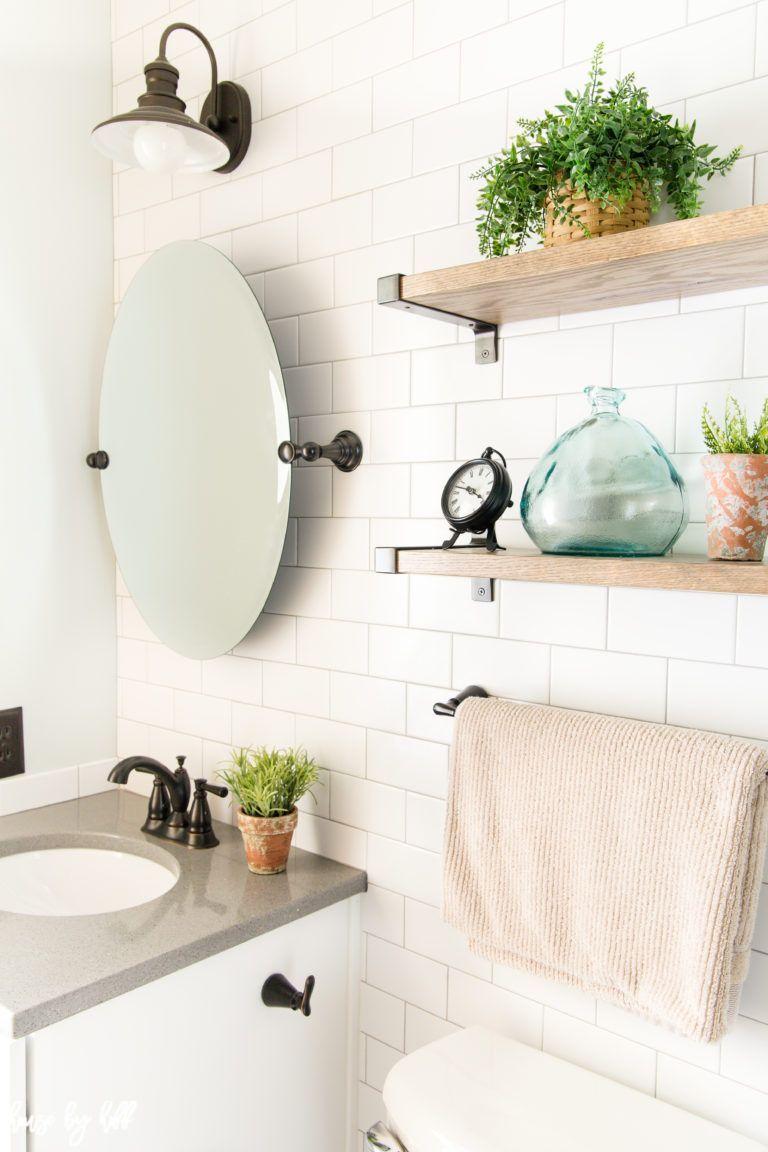 Rustikales badezimmer dekor diy how to make a small bathroom look larger my parentsu bathroom