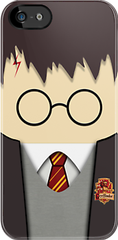 Cute Kawaii Harry Potter Face apple iphone 5, iphone 4 4s, iPhone 3Gs, iPod Touch 4g case