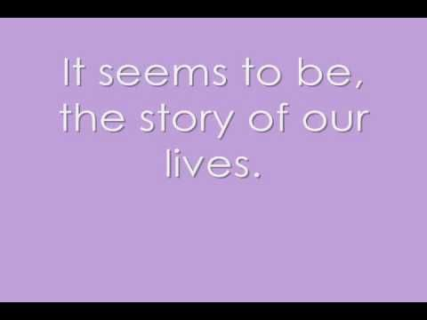 not meant to be-theory of a deadman((lyrics))