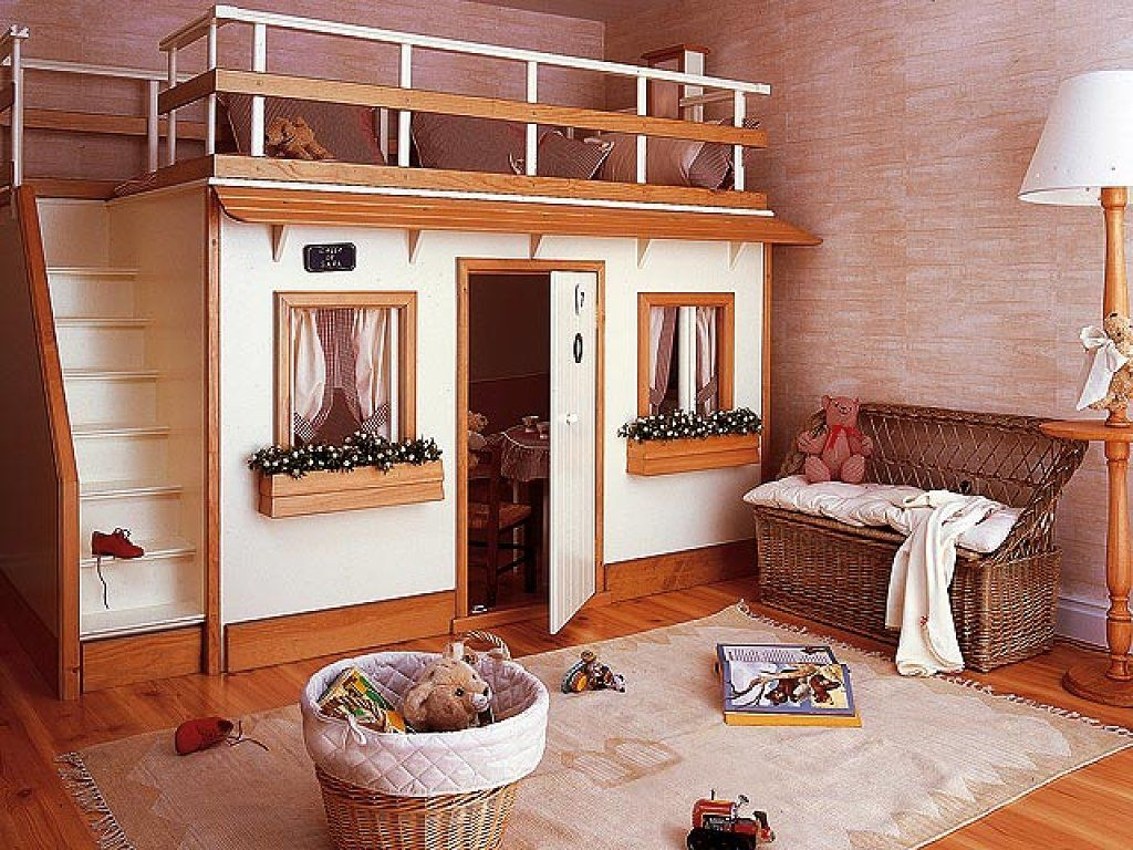 Loft bed ideas for kids  Mobiliario infantil para todos los gustos  Kitchens Kids rooms and