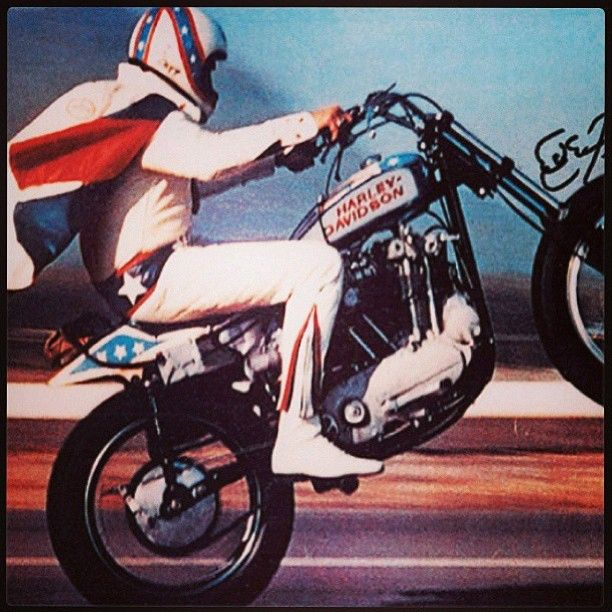 Posted just because Evel was a badass. Period.