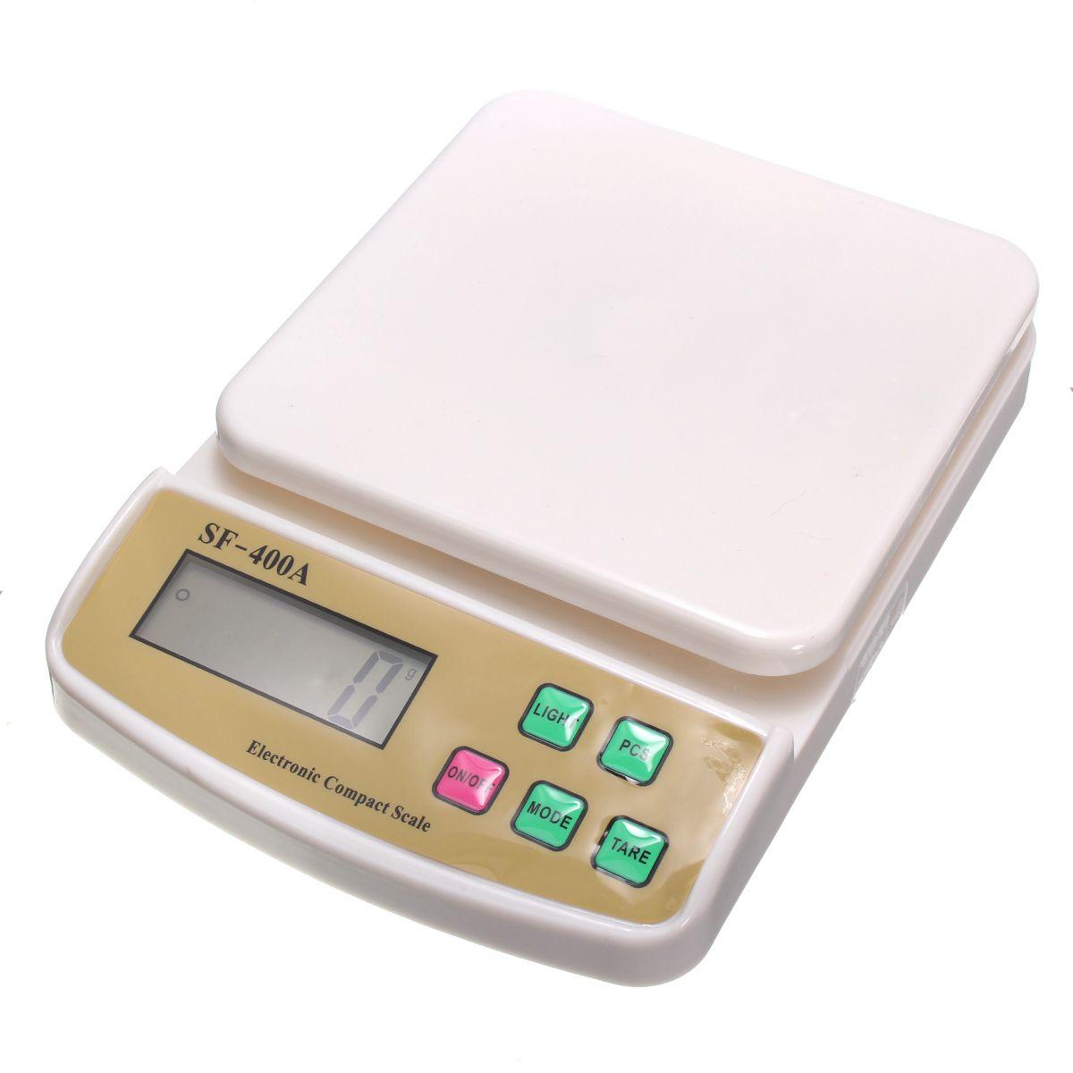 Balanza digital 10kg / 1g sf- 400a para la balanza de cocina ...