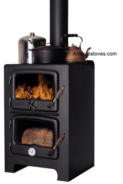 Wood Stove With Pizza Oven | Wood Cook Stoves,Kitchen Queen, Ashland,Bakers