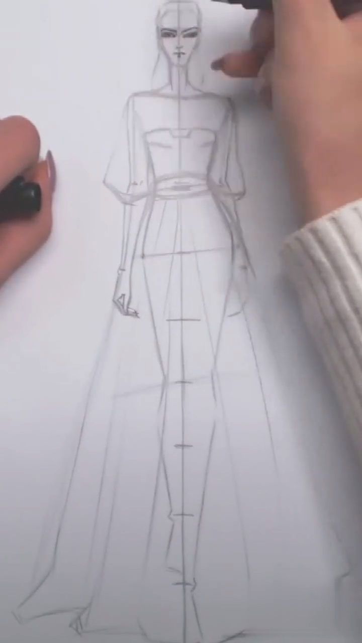 Fashion Design -   13 dress Fashion drawing ideas