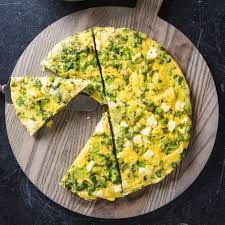 Broccoli and Feta Frittata Recipe