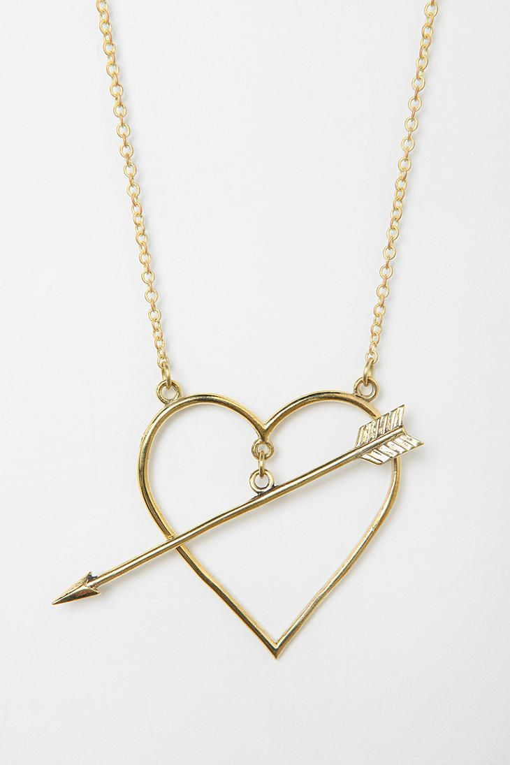Monserat De Lucca Heart Necklace