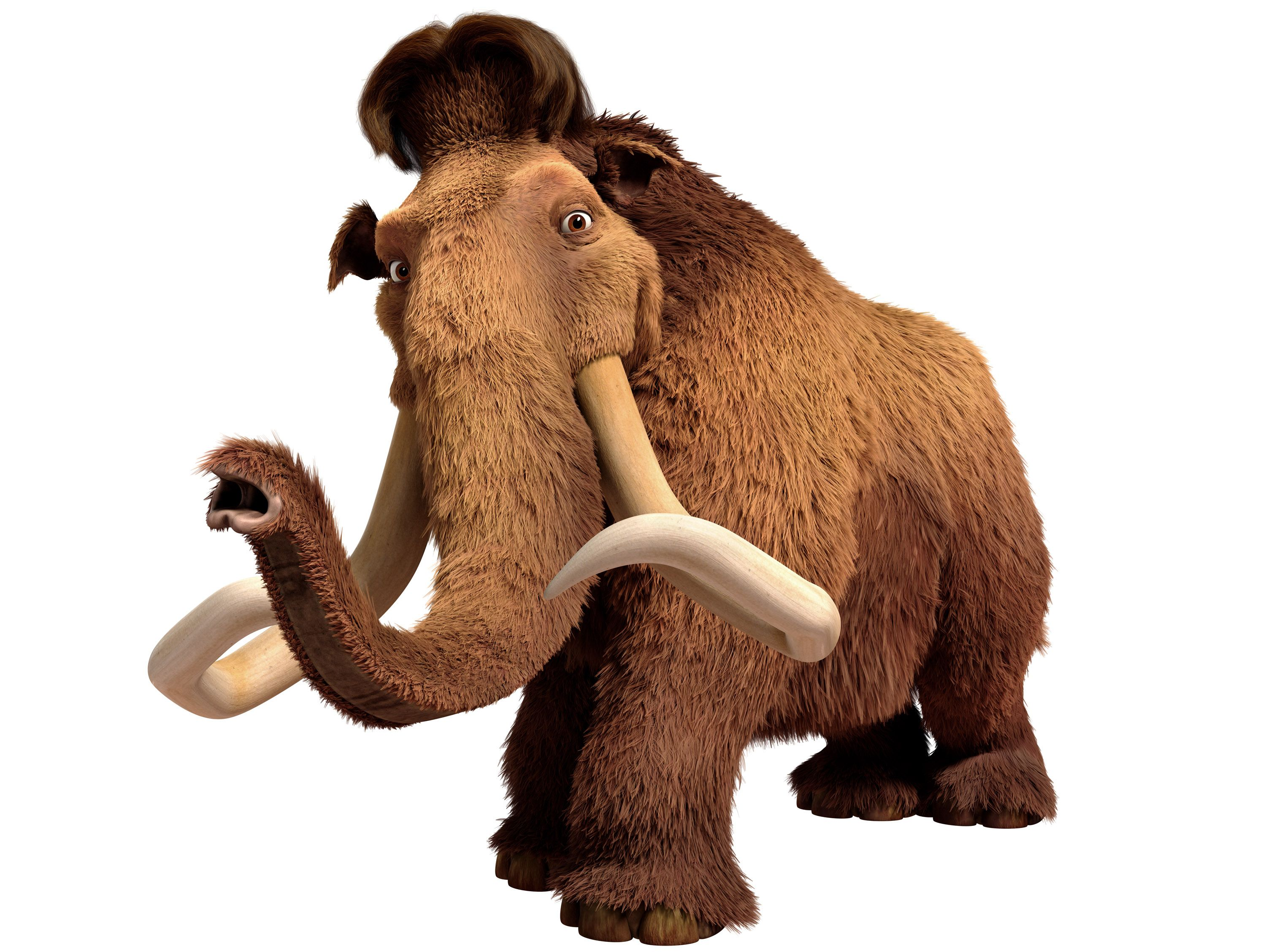 manny! manny the mammoth returns in ice age: continental drift as