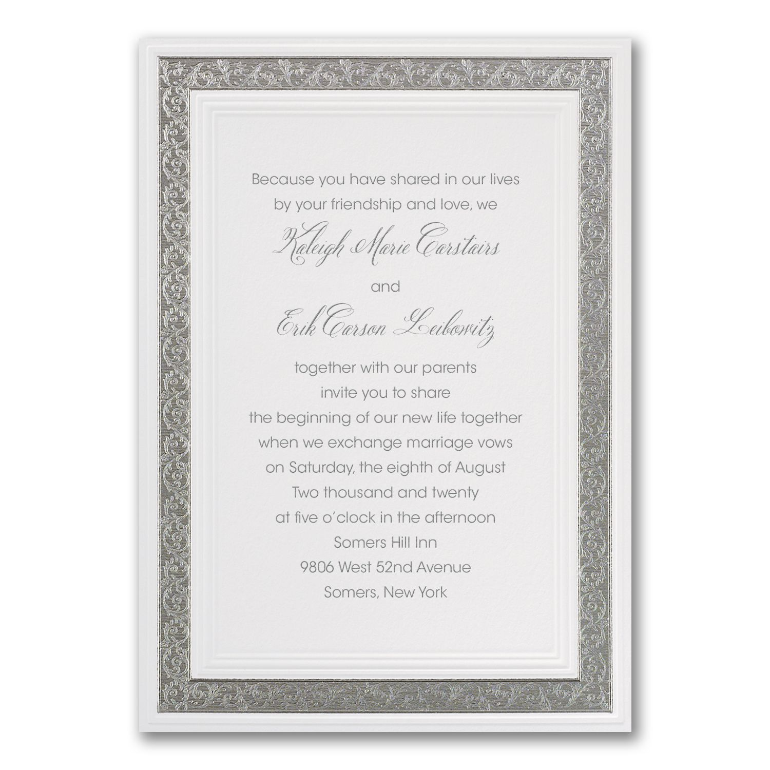 Expensive Wedding Gifts: Discount Wedding Invitations