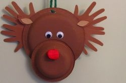 Activities Make a Paper Plate Reindeer & Make a Paper Plate Reindeer   Activities Kindergarten christmas and ...
