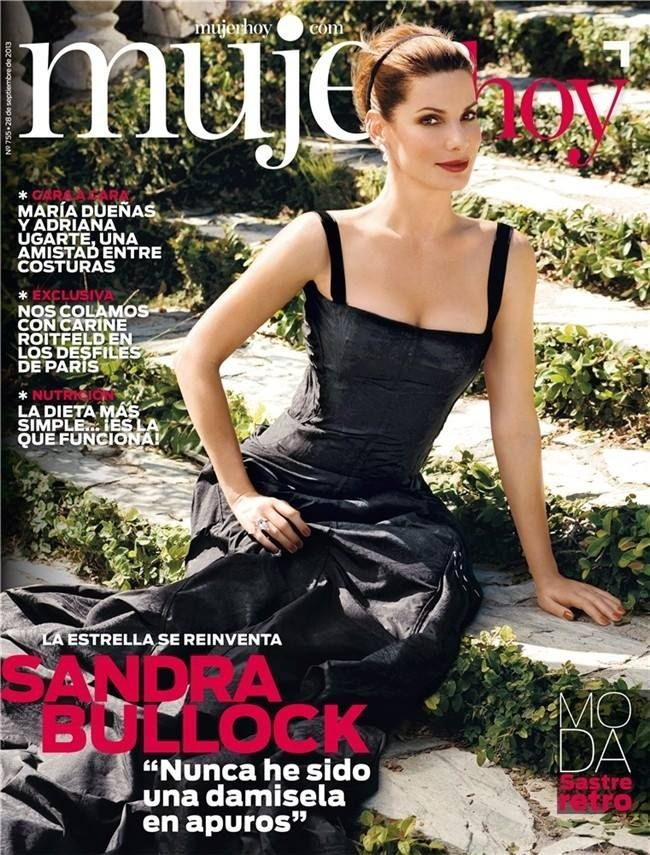 Mujer Hoy Magazine [Spain] (28 September 2013) Sandra Bullock