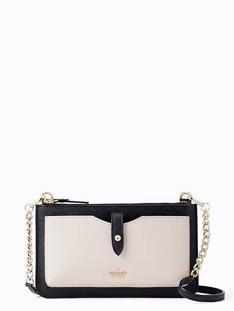buy online 3e4c7 4f1ed Kate Spade Iphone Crossbody, Tusk/Black   Products in 2019 ...