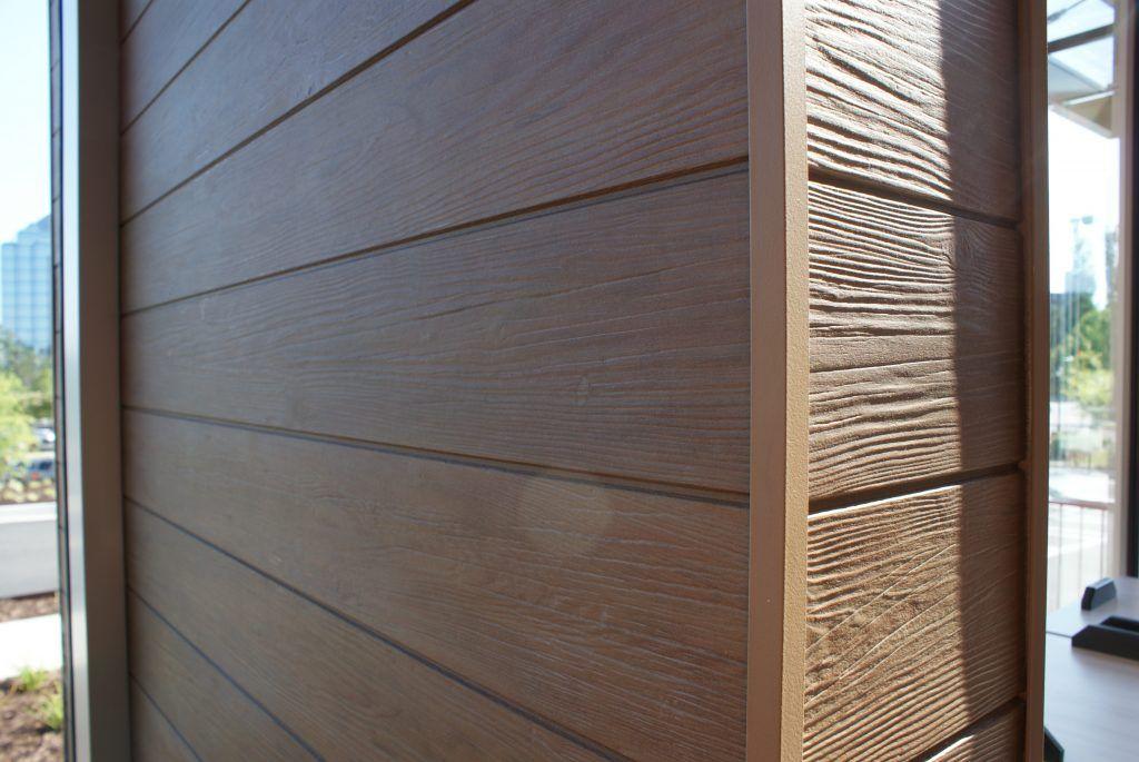 Fiber Cement Provides Wood Look Siding Fibre Cladding The Building