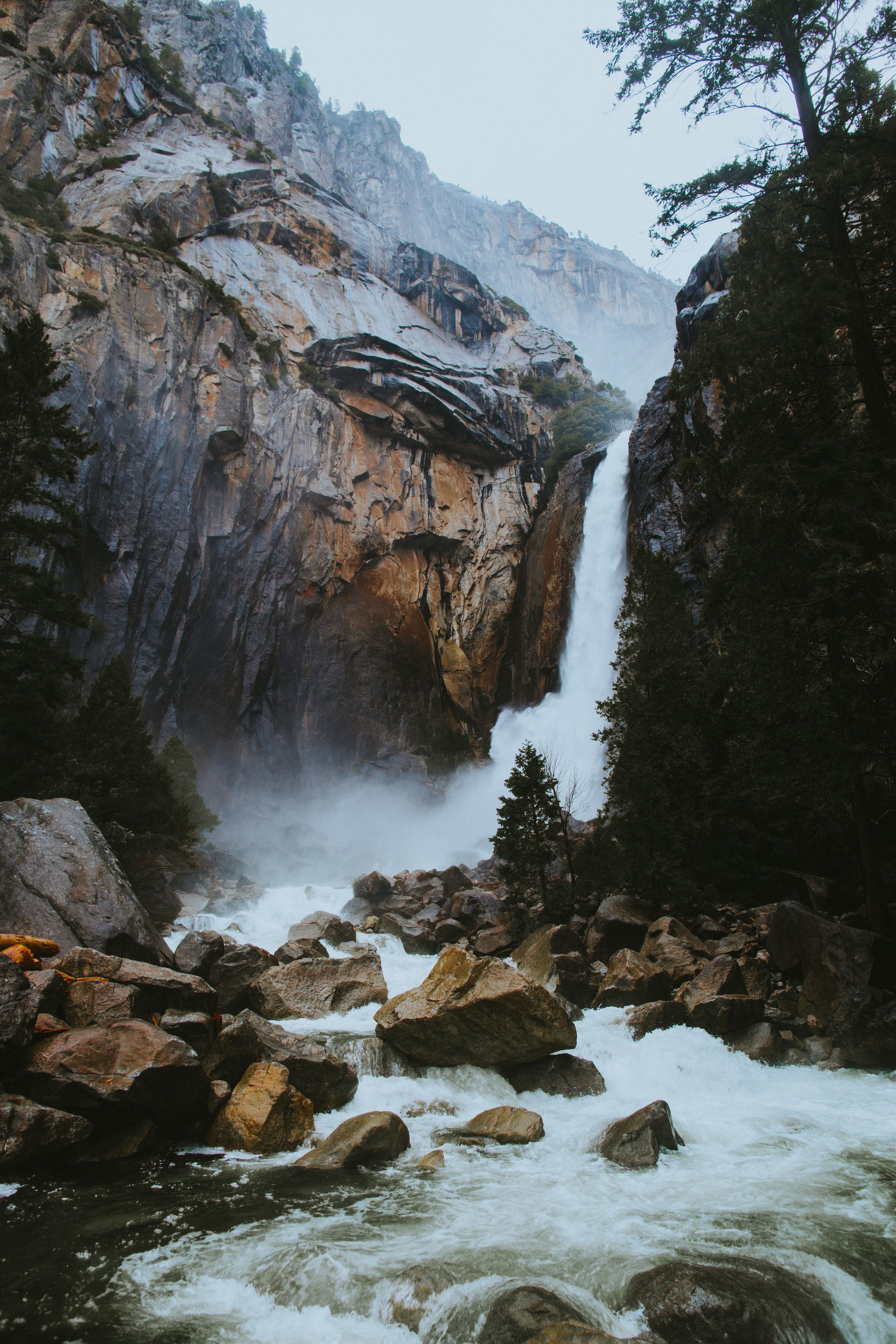 Amazing Travel Wallpapers for iPhone X Waterfall