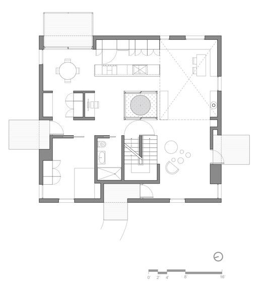 Gallery Of Grow Box Merge Architects 15 Architecture Plan Architect Floor Plans