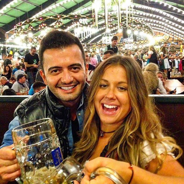 Oktoberfest #oktoberfest #munich #munchen #germany #beer #baverian #biergarten #enjoy