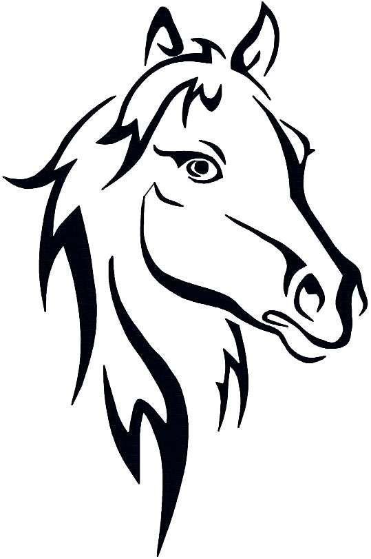 pinanne drissen on vorlagen  horse stencil horse
