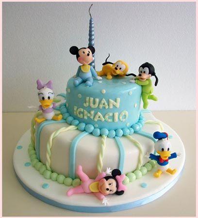 Nuevas Tendencias en Decoración de Tortas: Tortas de Cumpleaños de 1 año y de nacimiento