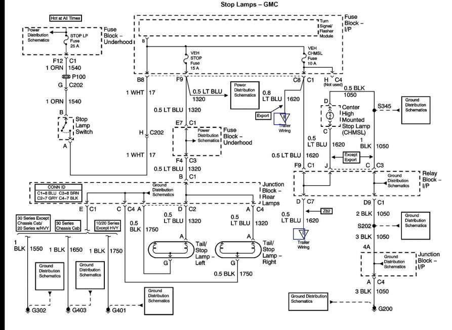 2006 Chevy Silverado Turn Signal Wiring Diagram