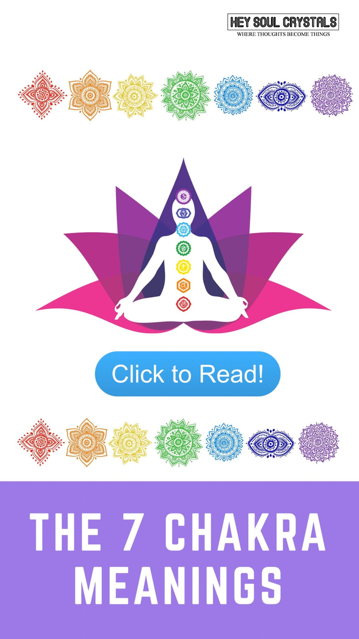 7 Chakra Meaning What Are Chakras And How Do They Affect Us