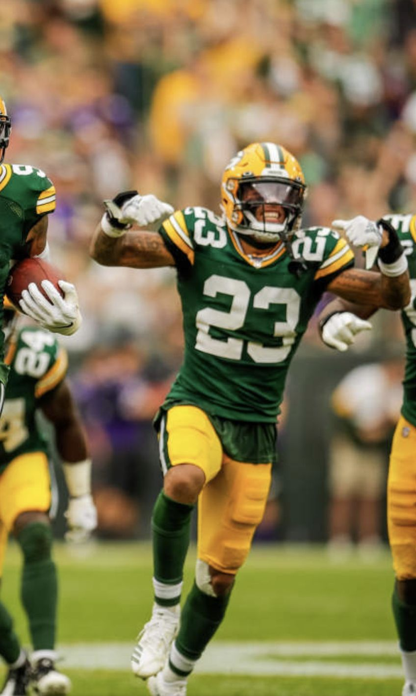 Pin By Lakendra On Jaire Alexander Football Helmets Football Green Bay Packers