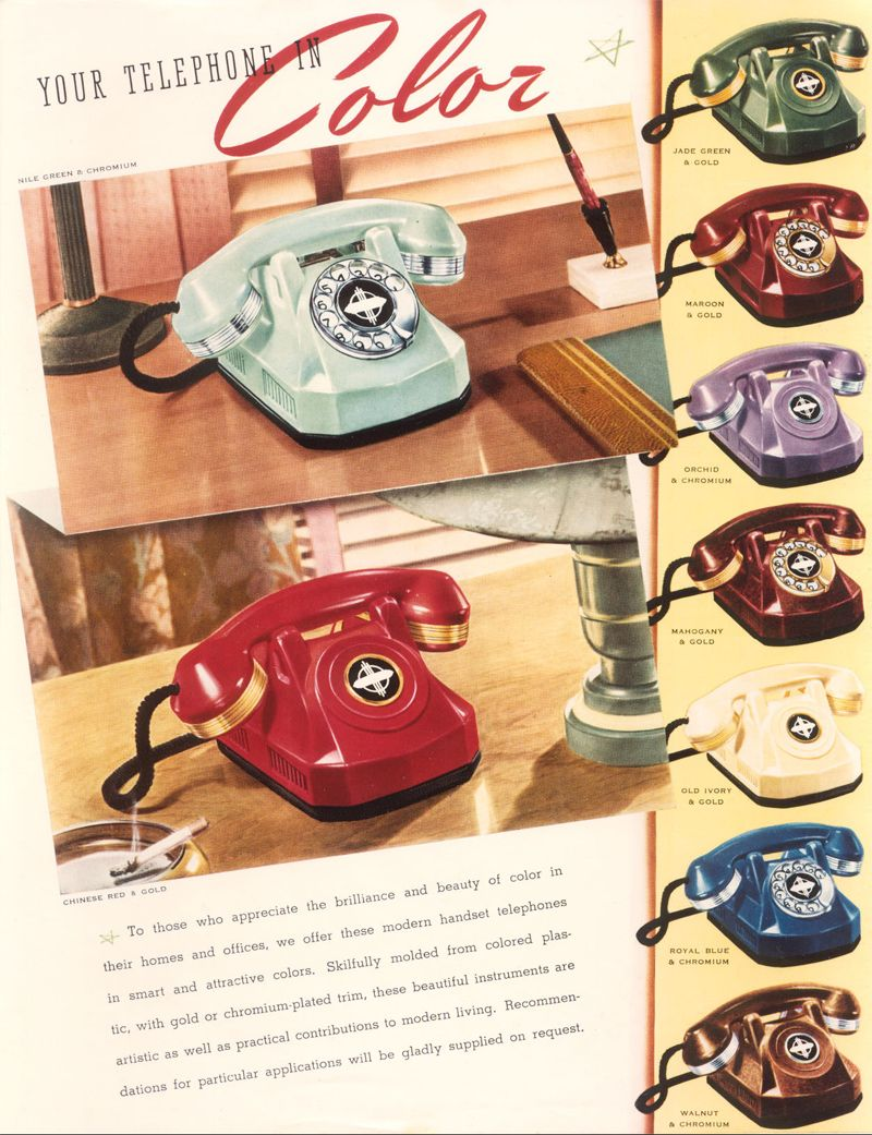 This Ad Is So Great I Would Love To Find An Antique Phone Like