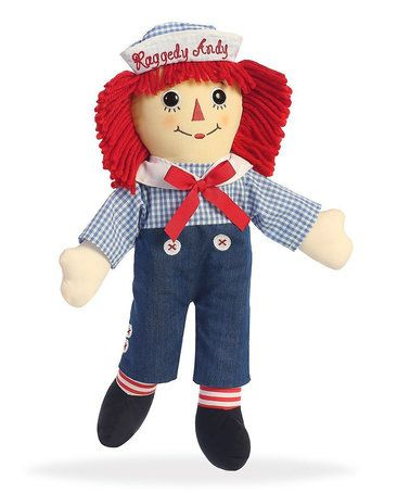 Another great find on #zulily! Talking Raggedy Andy Doll #zulilyfinds