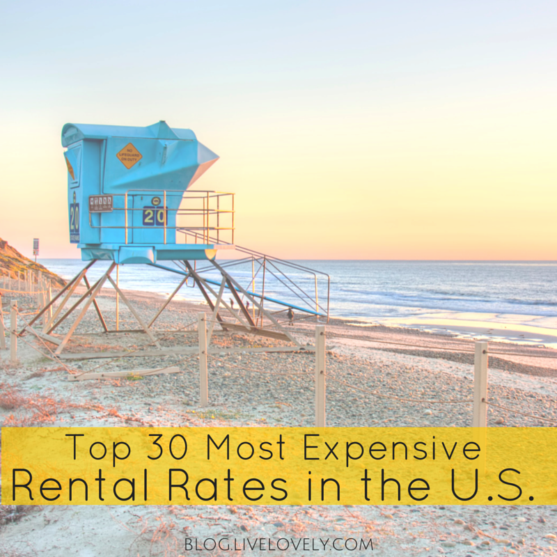 Rent Com Ny: Top 30 Most Expensive Rental Rates In The U.S.