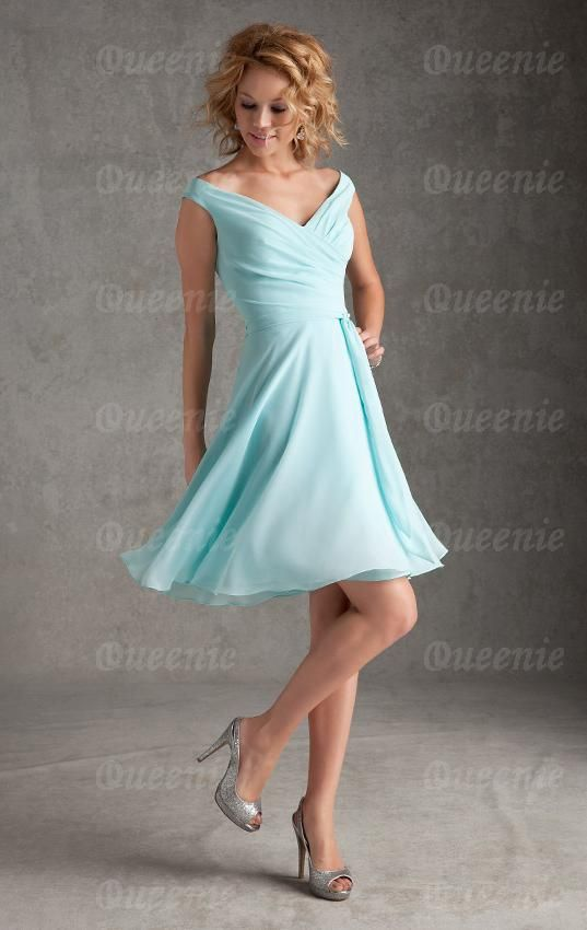 Cheap Blue Green Bridesmaid Dress BNNAJ0048-Bridesmaid UK | Wedding ...