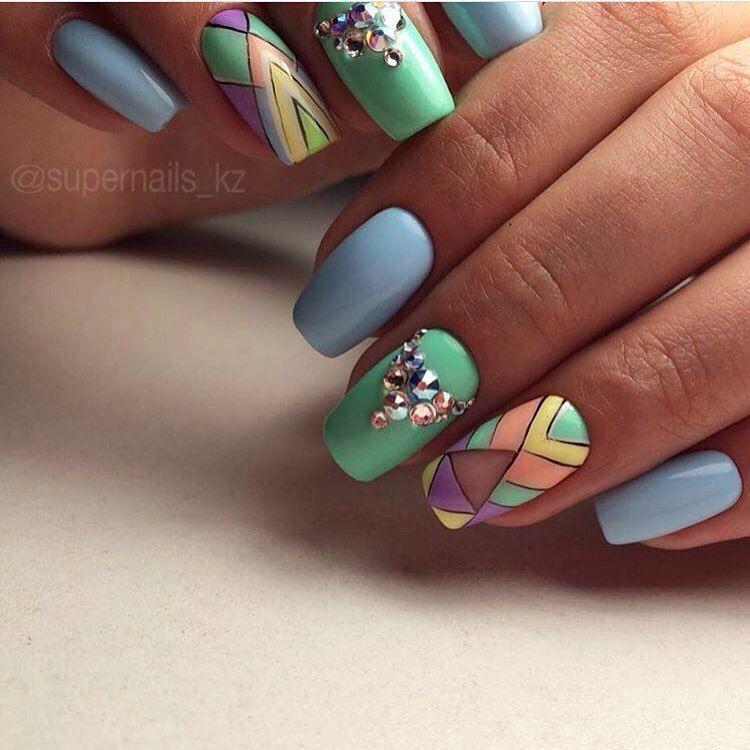 Nail Art #2207 - Best Nail Art Designs Gallery   Stylish nails, Nail ...